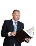 Άτομο σε ένα επιχειρησιακό κοστούμι Στοκ εικόνα με δικαίωμα ελεύθερης χρήσης