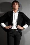 Άτομο σε ένα κοστούμι Στοκ φωτογραφία με δικαίωμα ελεύθερης χρήσης