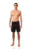 Άτομο σε Swimwear Στοκ φωτογραφία με δικαίωμα ελεύθερης χρήσης