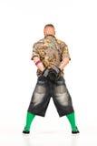 Άτομο στην εξάρτηση χιπ χοπ Στοκ φωτογραφία με δικαίωμα ελεύθερης χρήσης