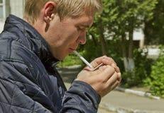 Άτομο στην περιοχή συλλογής Στοκ φωτογραφία με δικαίωμα ελεύθερης χρήσης