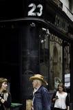 Άτομο στη Βαρκελώνη, Ισπανία στοκ φωτογραφίες με δικαίωμα ελεύθερης χρήσης