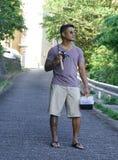 Άτομο στις διακοπές στην Ιαπωνία 3 Στοκ εικόνα με δικαίωμα ελεύθερης χρήσης