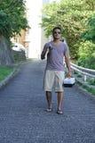 Άτομο στις διακοπές στην Ιαπωνία 4 Στοκ φωτογραφία με δικαίωμα ελεύθερης χρήσης