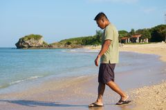 Άτομο στις διακοπές στην Ιαπωνία 6 Στοκ εικόνες με δικαίωμα ελεύθερης χρήσης