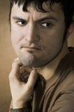 άτομο στοχαστικό Στοκ φωτογραφία με δικαίωμα ελεύθερης χρήσης