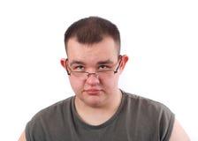 άτομο στοχαστικό Στοκ εικόνα με δικαίωμα ελεύθερης χρήσης