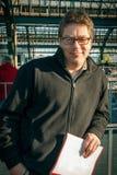 Άτομο στο γύρο Στοκ φωτογραφίες με δικαίωμα ελεύθερης χρήσης