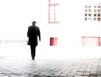 Άτομο στο καπέλο Στοκ Φωτογραφίες