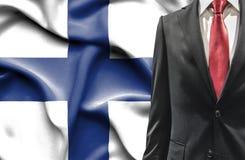 Άτομο στο κοστούμι από τη Φινλανδία στοκ φωτογραφία με δικαίωμα ελεύθερης χρήσης