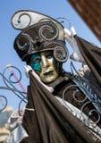 Άτομο στο κοστούμι στη Βενετία carneval το 2018, Ιταλία Στοκ εικόνες με δικαίωμα ελεύθερης χρήσης
