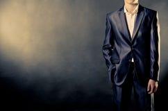 Άτομο στο κοστούμι Στοκ Εικόνα