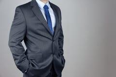 Άτομο στο κοστούμι Στοκ εικόνα με δικαίωμα ελεύθερης χρήσης