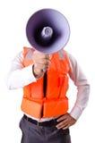 Άτομο στο σακάκι ζωής Στοκ εικόνες με δικαίωμα ελεύθερης χρήσης