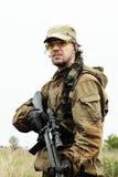άτομο στρατιωτικό Στοκ εικόνα με δικαίωμα ελεύθερης χρήσης