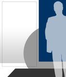 άτομο σχεδιαγράμματος επιχειρησιακής απεικόνισης Στοκ εικόνα με δικαίωμα ελεύθερης χρήσης