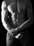 άτομο σωμάτων ισχυρό Στοκ Φωτογραφία