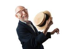 Άτομο τραγουδιού και χορού Στοκ Φωτογραφία