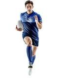 Άτομο φορέων ράγκμπι που απομονώνεται Στοκ Εικόνα