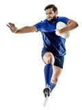 Άτομο φορέων ράγκμπι που απομονώνεται Στοκ φωτογραφία με δικαίωμα ελεύθερης χρήσης