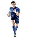 Άτομο φορέων ράγκμπι που απομονώνεται Στοκ εικόνες με δικαίωμα ελεύθερης χρήσης
