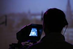 άτομο φωτογραφικών μηχανών Στοκ εικόνα με δικαίωμα ελεύθερης χρήσης