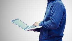 Άτομο χάκερ Στοκ εικόνα με δικαίωμα ελεύθερης χρήσης