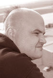 άτομο χαμόγελου Στοκ φωτογραφία με δικαίωμα ελεύθερης χρήσης