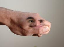 άτομο χεριών Στοκ εικόνες με δικαίωμα ελεύθερης χρήσης