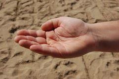 άτομο χεριών Στοκ Φωτογραφία
