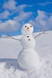 Άτομο χιονιού στοκ φωτογραφίες με δικαίωμα ελεύθερης χρήσης