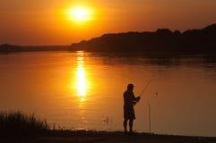 άτομο ψαριών Στοκ εικόνα με δικαίωμα ελεύθερης χρήσης