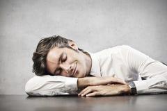 Άτομο ύπνου στοκ φωτογραφίες με δικαίωμα ελεύθερης χρήσης