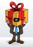 Άτομο δώρων Στοκ Εικόνες
