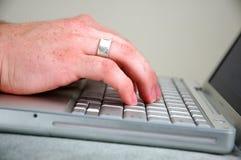 άτομο 3 υπολογιστών Στοκ εικόνα με δικαίωμα ελεύθερης χρήσης