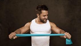 Άτομο Bodybuilding Στοκ Εικόνες