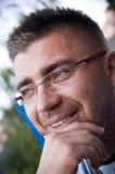 Άτομο eyeglasses Στοκ Φωτογραφίες