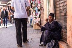 Άτομο Morrocan (οδός) στοκ φωτογραφία με δικαίωμα ελεύθερης χρήσης