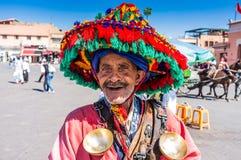 Άτομο Morrocan στοκ φωτογραφία με δικαίωμα ελεύθερης χρήσης