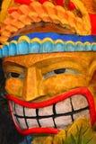 Άτομο Tiki στοκ φωτογραφία με δικαίωμα ελεύθερης χρήσης