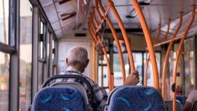 Άτομο trolleybus σε Chisinau, Δημοκρατία της Μολδαβίας Στοκ Εικόνες