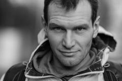 Άτομο trucker ΚΑΠ Στοκ εικόνα με δικαίωμα ελεύθερης χρήσης