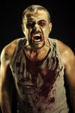 Άτομο Zombie Στοκ φωτογραφία με δικαίωμα ελεύθερης χρήσης