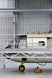 Άτρακτος ελικοπτέρων σε ένα εργοστάσιο Στοκ Φωτογραφία