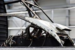 Άτρακτος ελικοπτέρων σε ένα εργοστάσιο Στοκ Εικόνες