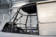 Άτρακτος ελικοπτέρων σε ένα εργοστάσιο Στοκ Εικόνα