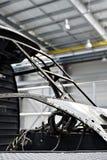 Άτρακτος ελικοπτέρων σε ένα εργοστάσιο Στοκ φωτογραφία με δικαίωμα ελεύθερης χρήσης