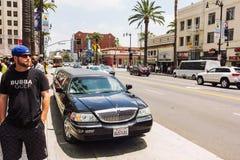 Άφθονος τρόπος ζωής σε Hollywood στοκ εικόνες