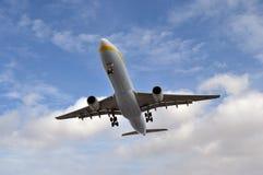 Άφιξη αεροπλάνων Στοκ εικόνα με δικαίωμα ελεύθερης χρήσης