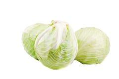 λάχανο που απομονώνεται Στοκ φωτογραφία με δικαίωμα ελεύθερης χρήσης